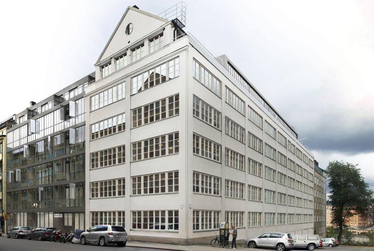Oscar properties : Chokladfabriken #Oscarproperties facade, kungsholmen