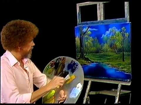 Bob Ross Painting Video - Twilight Meadow