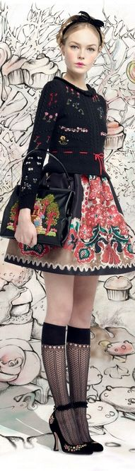 Fall 2013 Ready-to-Wear Red Valentino