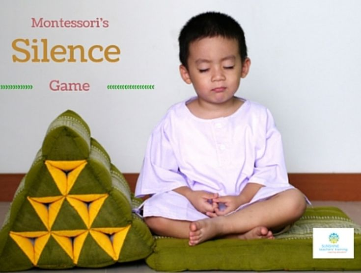 How To Implement Montessori's Famous 'Silence Game' In Your Classroom