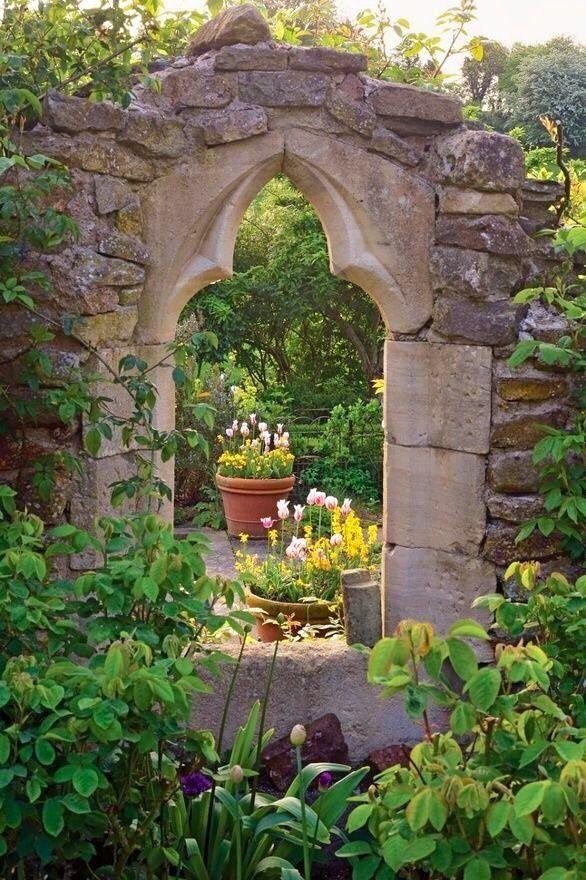 14 best Gardening images on Pinterest Walled garden, Backyard - gartenbepflanzung am hang