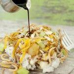 Hawaiian Haystacks Recipe from Kristedukephotography.com #haystacks #rice #recipe