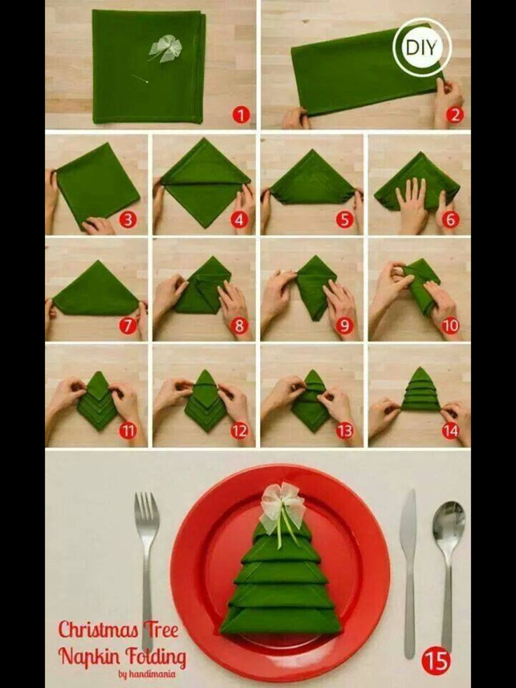Xmas Tree napkins