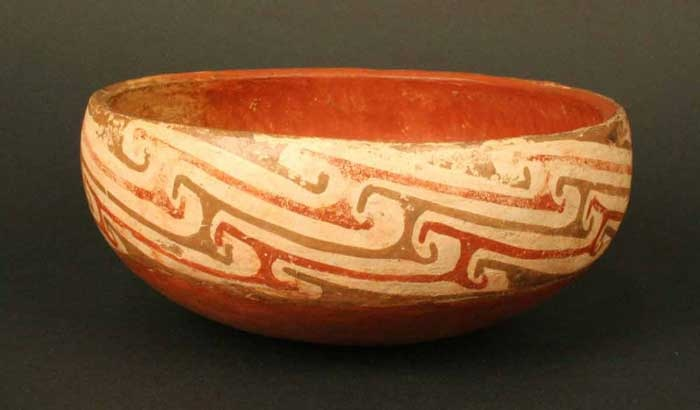 Beautiful pottery of the Diaguita culture in the north of Chile. Their sense of color and proportion was stellar