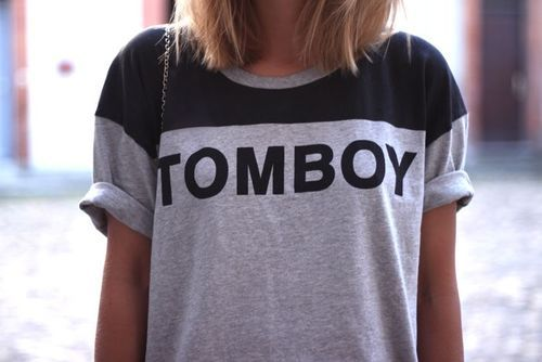 Every girl needs a tomboy shirt. Use heat transfer materials and a heat press to make yours.
