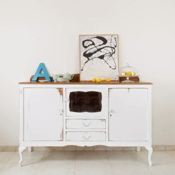 12 best images about decapado on pinterest mesas pink - Ideas para restaurar muebles viejos ...