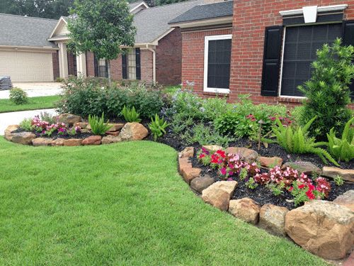 What are simple landscaping ideas for front and back yards for Simple front landscape ideas