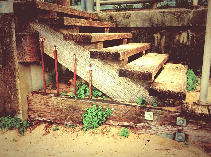 Stairs, anyone.