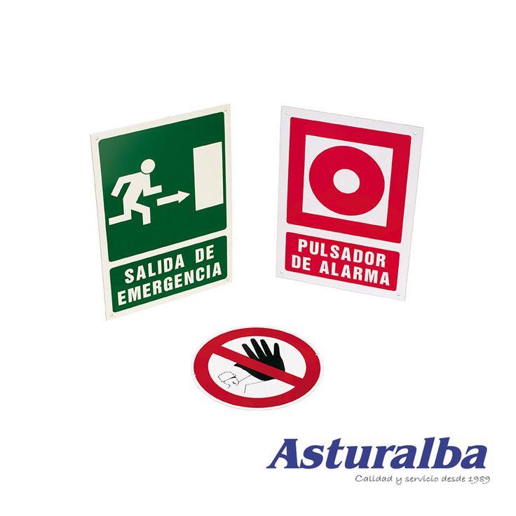 Carteles, placas y señales de prohibición: Prohibido el paso.