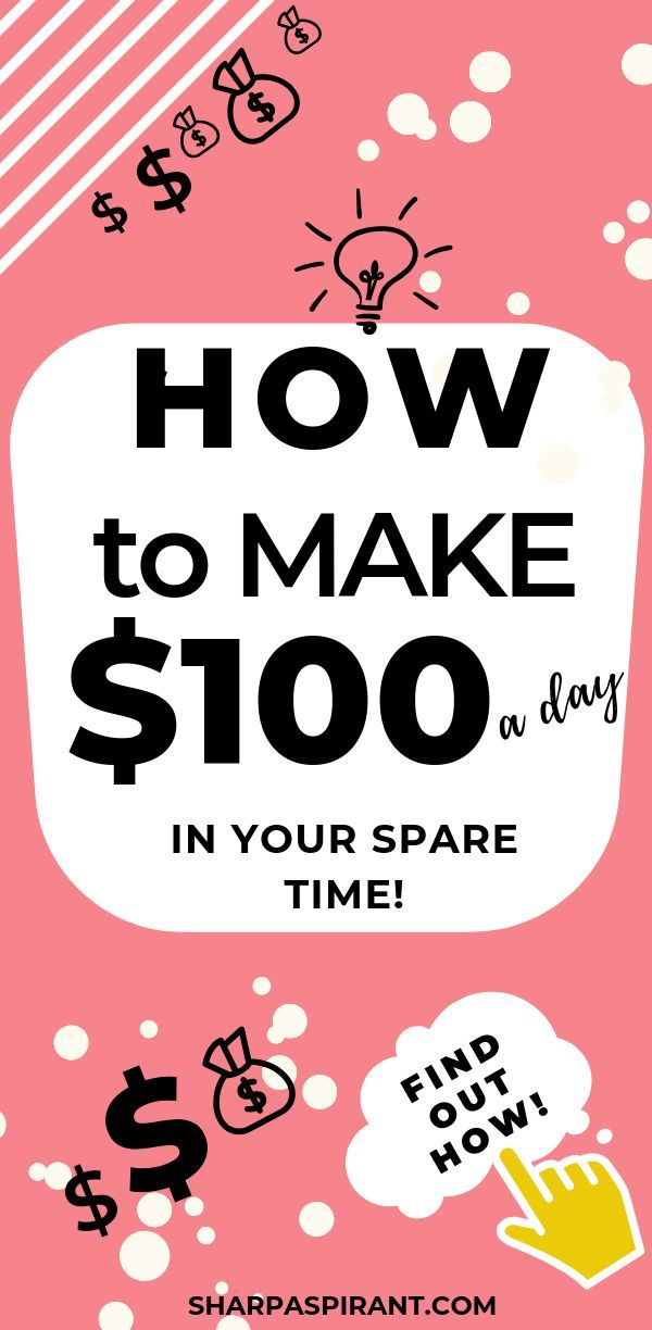 Earn Money from Home Online (11 Ways to Make $100/Day – Make Extra Money