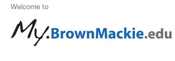 portal brownmackie edu