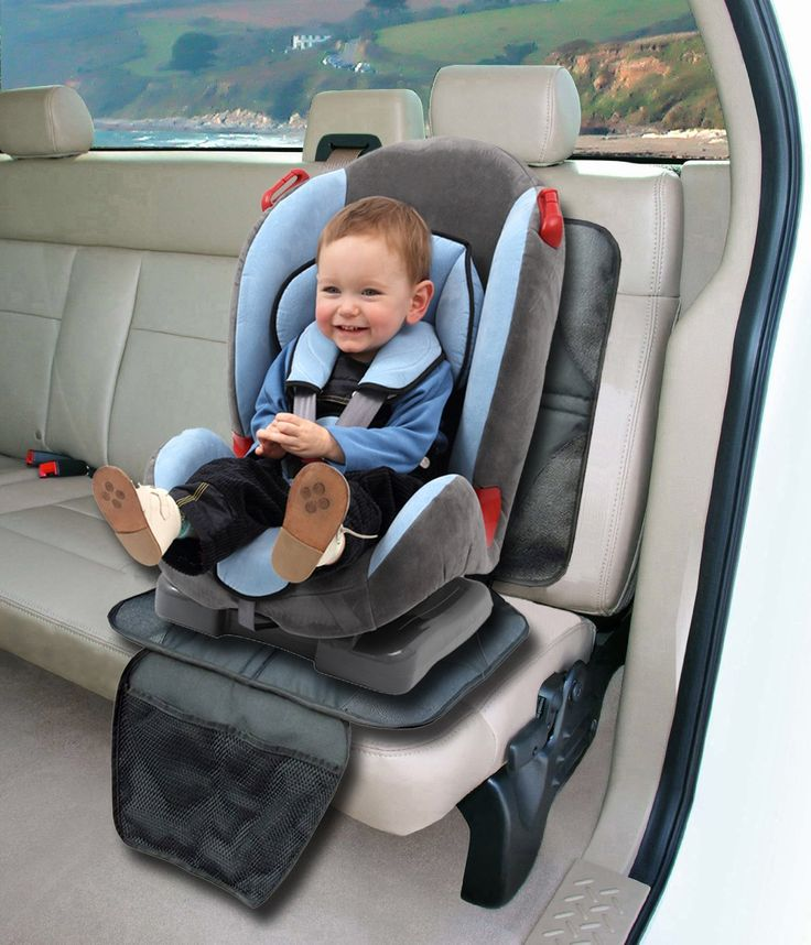 Amazon.com : Car Seat Protector by Freddie and Sebbie - Luxury Car Seat Protector Mat Will Instantly Keep Your Leather or Cloth Back Seat Clean From Scuffmarks Left By Your Kids Feet, Stains Or Spills - Custom Designed With a Super Anti-Slip Backing To Stop Your Baby's Car Seat From Slipping Which Makes Sure Your Baby is Safe at All Times - This Car Seat Protector Comes With a Lifetime NO-Hassle Free Replacement Guarantee! : Child Safety Car Seat Accessories : Baby