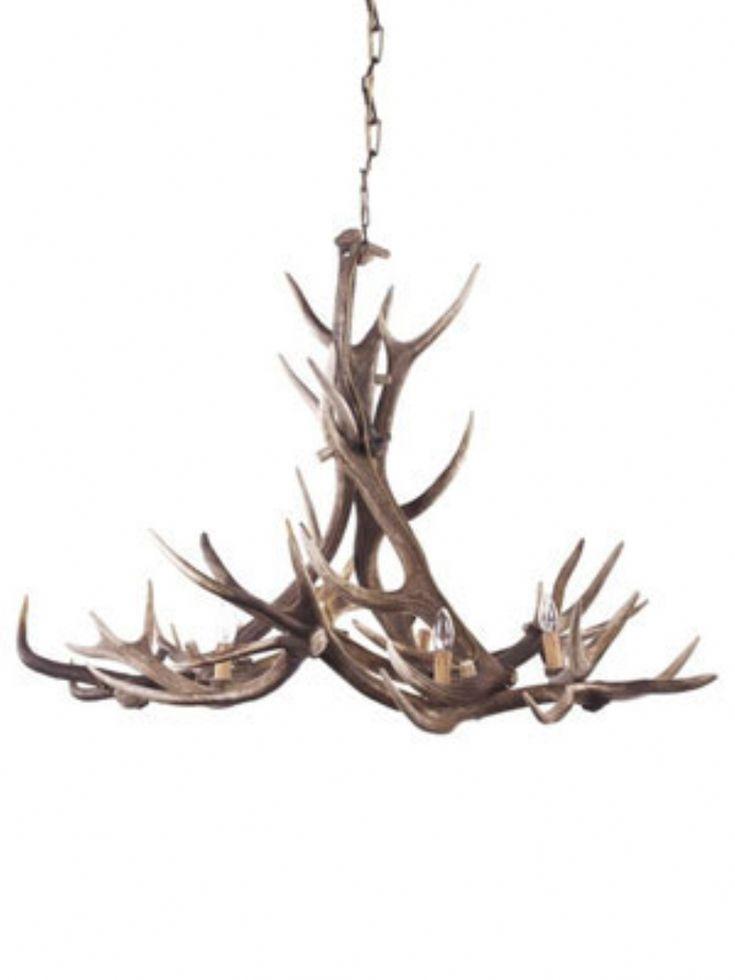 Bespoke REAL deer antler chandelier