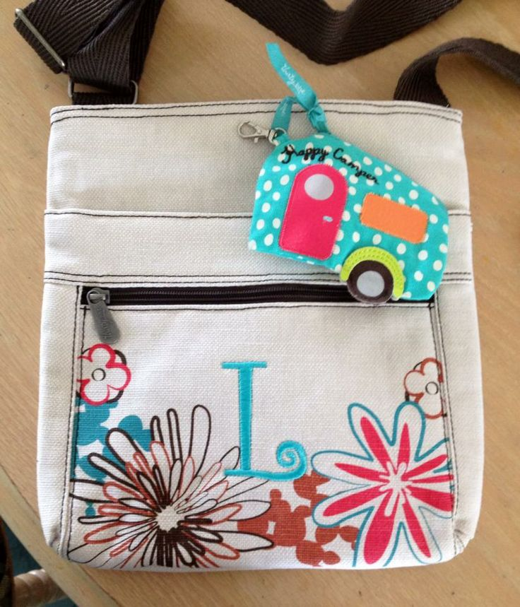 Thirty One Organizing Shoulder Bag Daisy 48