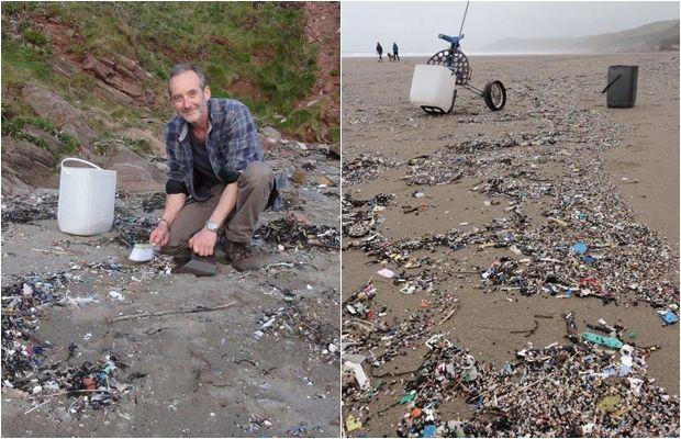 Denizden Topladığı Çöpleri Sanat Eserine Dönüştüren Yaratıcı Aktivist