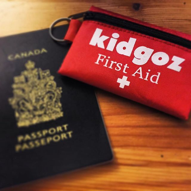 #kidgoz cares! Children's activity packs comes with emergency first aid kit. Cause you never know what will happen when you travel with kids!