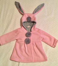 Интернет-магазин Babyinstar Пальто с капюшоном для девочек Новая весная летняя зимняя фасон Теплая одежда Милое детское пальто с заячьей ушей для девочек | Aliexpress для мобильных