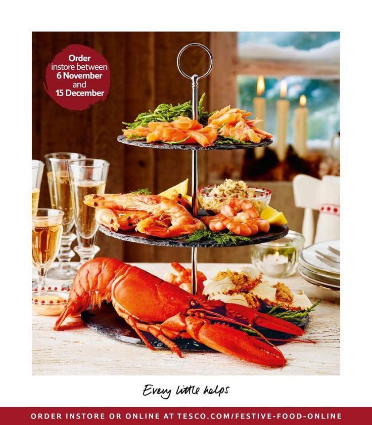 Tesco Festive Food to Order 2016 by Tesco Magazine - issuu