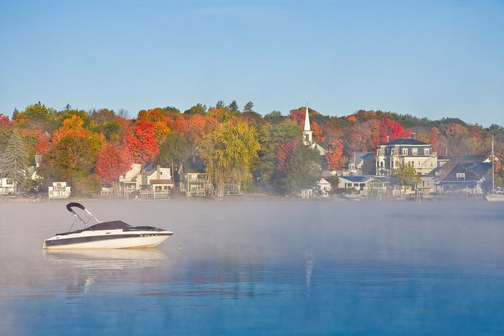 Morning On Lake Winnipesaukee In Wolfeboro How Lucky Am I To
