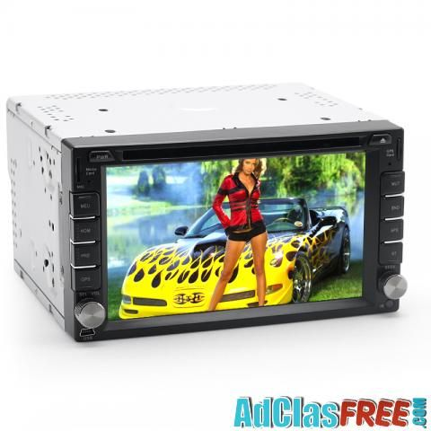 6.2 Inch Car DVD Player - Windows CE 6.0