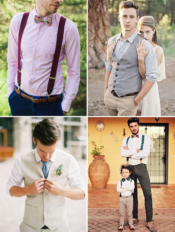 Summer Wedding Suit Ideas - Styling the Groom | Summer wedding suits Wedding suits and Summer ...