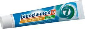 Mit sanftem Frische-Kick: Die Zahnpasta blend-a-med complete plus milde Frische bietet Rundumschutz für die 7 Zeichen gesunder, schöner Zähne.Ihre Fluorid-...