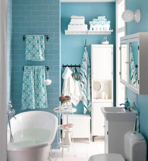 Badezimmer Türkis