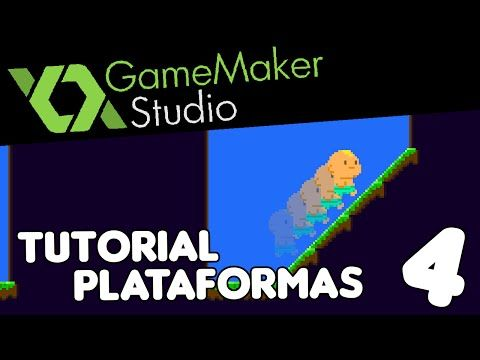 Game Maker Studio - Haciendo un Plataformas - Parte 4: Cuestas - YouTube