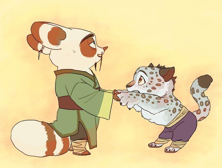 Kung Fu Panda, Tai Lung, Shifu