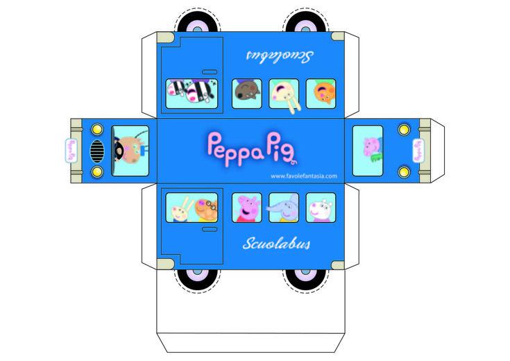 Scuolabus di Peppa Pig | Favole e Fantasia