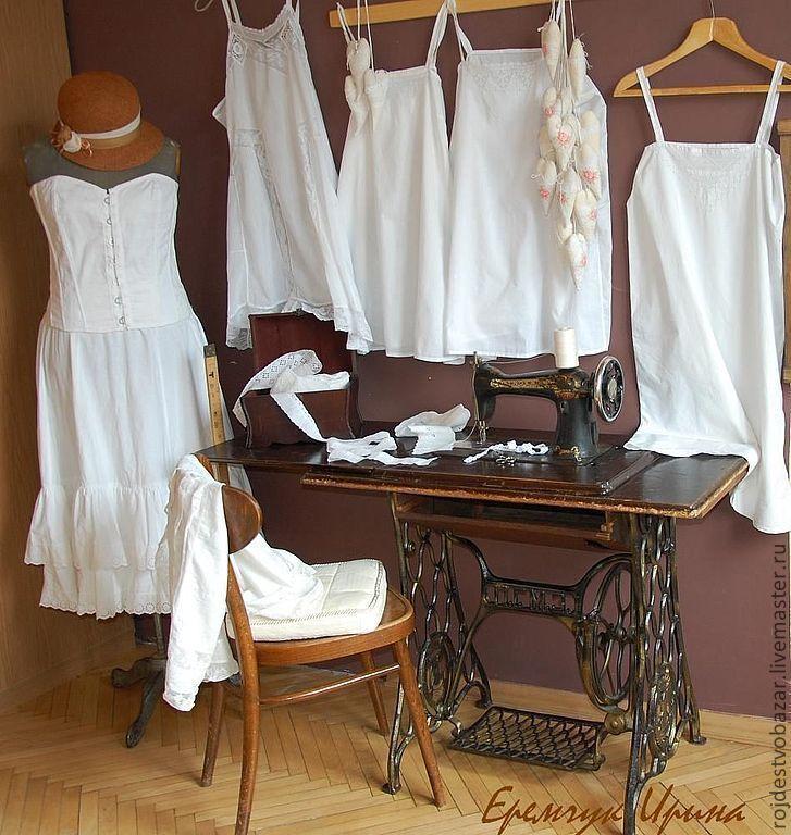 Купить Сорочинская ярмарка - белый, русский стиль, винтажный стиль, винтаж, ролевые игры