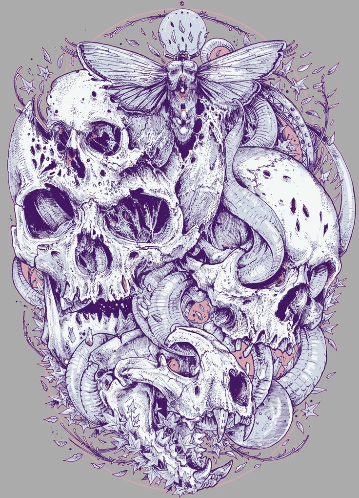 TOO MANY SKULL on Behance