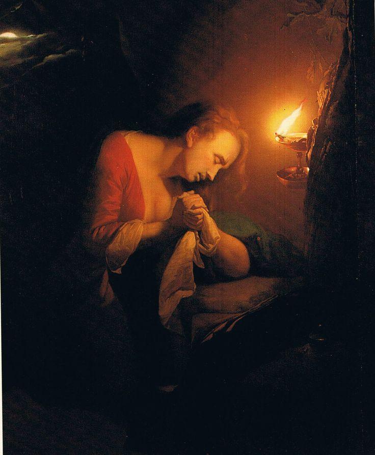 Magdalena penitent Godfried Schalcken,