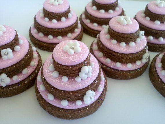 Stacked Tiered Cookie Cakes Mini Sugar Cookies 1 by acookiejar, $27.95