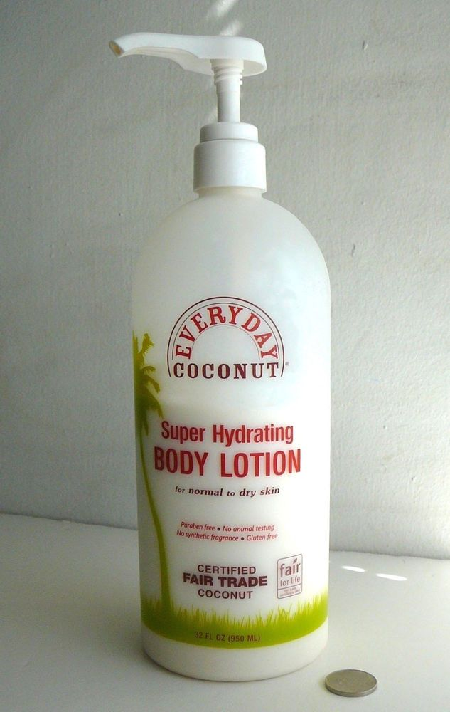 Everyday COCONUT Super Hydrating Body Lotion MOISTURIZER Very Large Bottle 24oz #EveryDay