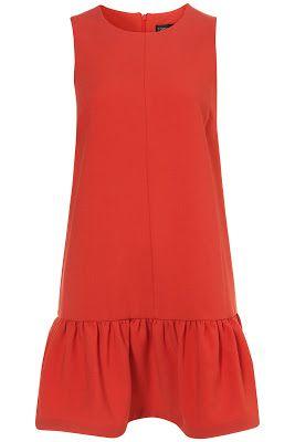 Drop Waist Dresses #TopShop drop waste shift dress $50