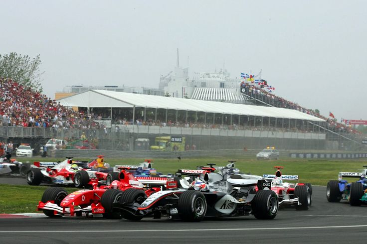 Kimi Raikkonen came through from seventh on the grid to triumph in 2005 Canadian Grand Prix