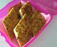 Recipe Zucchini and Cheese slice by mangiamo - Recipe of category Baking - savoury