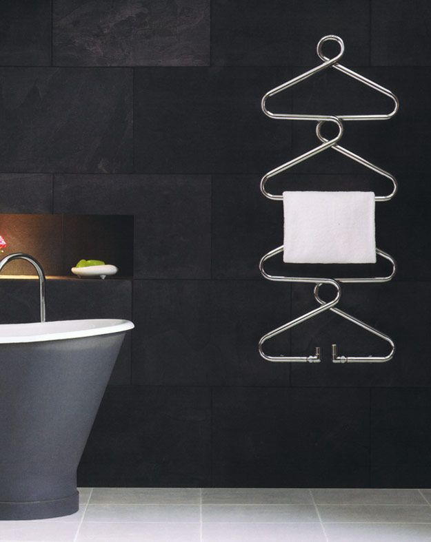 Designer Heated Towel Rails & Beautiful Towel Radiators - Hanger