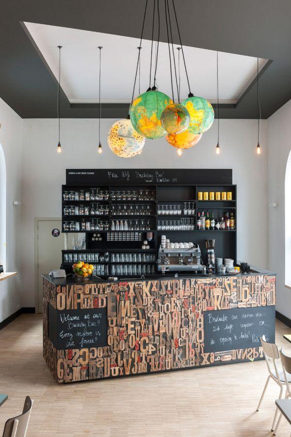 Backstay Hostel in Ghent by designers Nele Van Damme & Yannick Baeyens