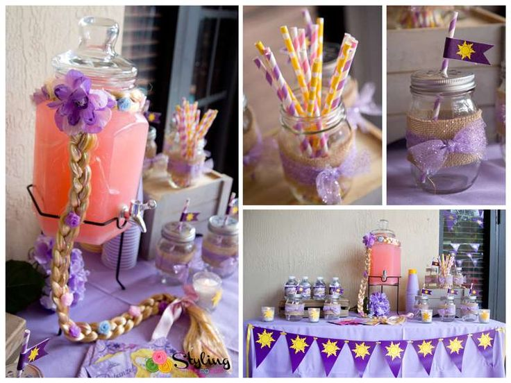 Fantastic Tangled birthday party! See more party ideas at CatchMyParty.com!