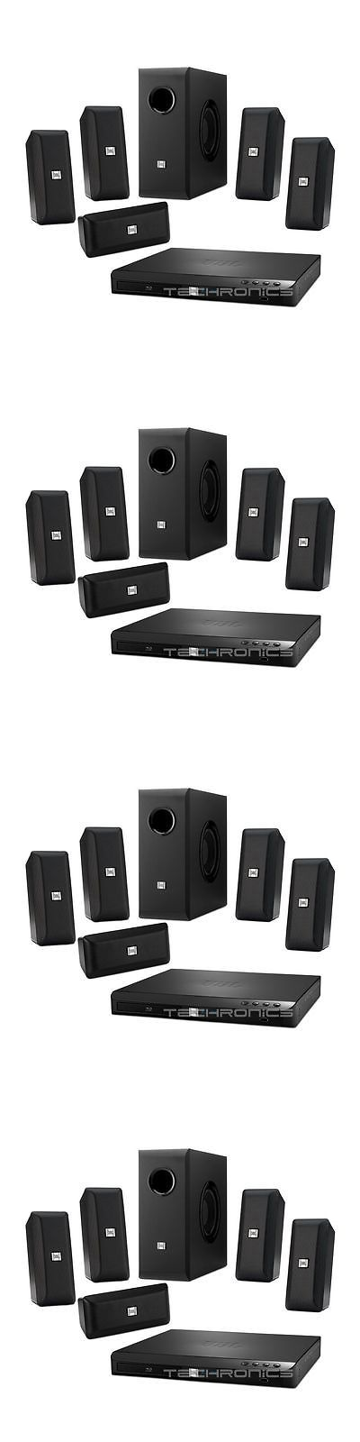 Home Theater Systems: Jbl Bd100 5.1 Channel Home Theater System With 3D Blue Ray Disc Receiver New BUY IT NOW ONLY: $239.99