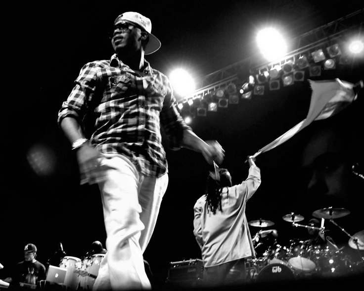 Nas & Damian Marley - Distant Relatives tour - 2011 - photo credit unknown