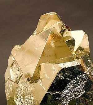 Pyrite octahedral ~ Mina Huanzala, Huallanca, Dos de Mayo, Huánuco  Peru