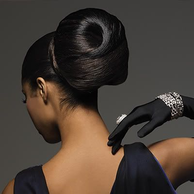 Now this is sharp!  Updo Hairstyles For African American Women