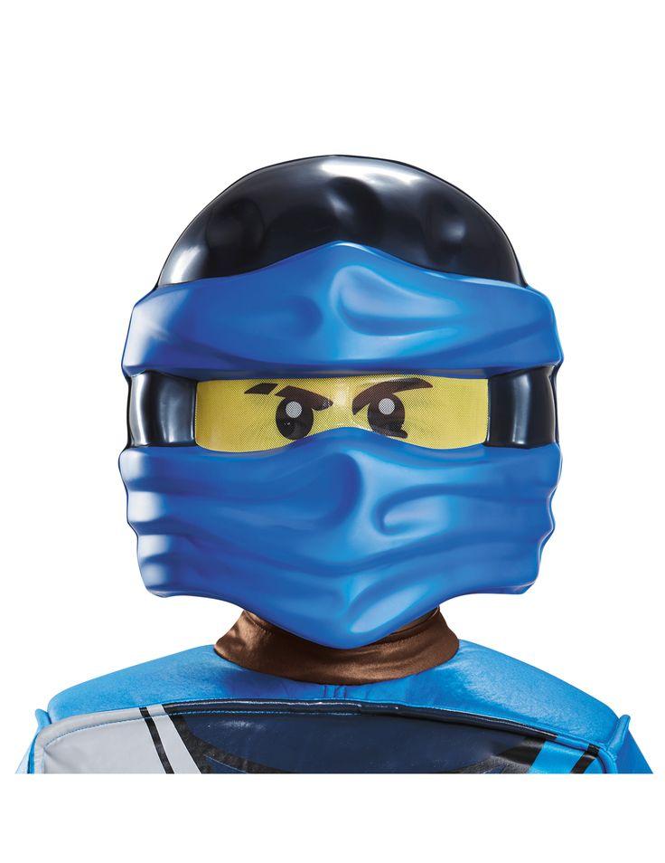 Jay Ninjago™ Lego™ masker voor kinderen #Lego #Ninjago #NexoKnights #Kerst2016