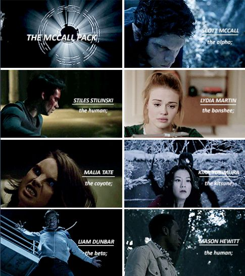 #TeenWolf - The McCall Pack
