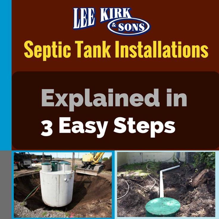 Septic Tank Installations Explained in 3 Easy Steps