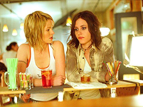 Leisha Hailey and Katherine Moennig in The L Word (2004)  Titles: The L Word, Let's Do It