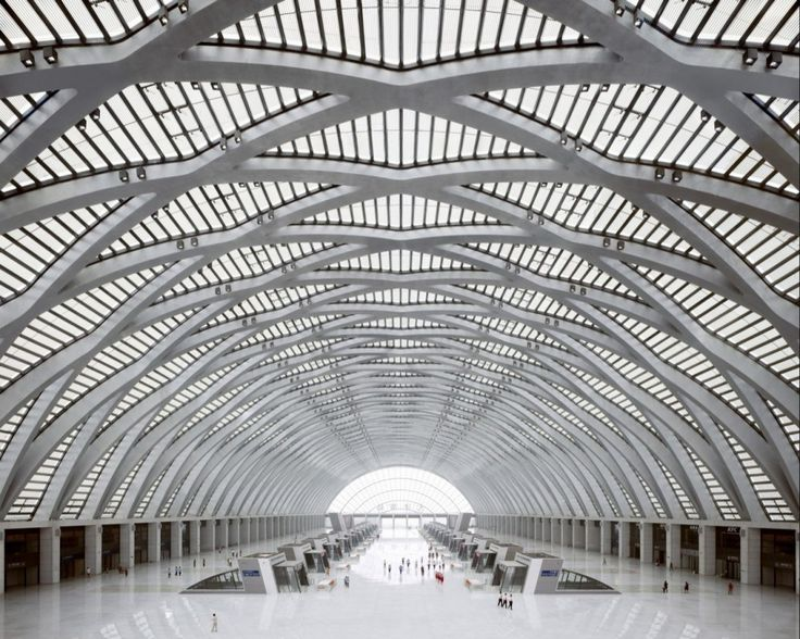 GMP ARCHITEKTEN, TIANJIN WEST RAILWAY STATION: china has been blowing my mind more and more, ever since i was a tiny kid.